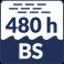 Résiste au Brouillard salin (480h)