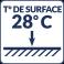 Température de surface : 28°