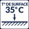 Température de surface : 35°