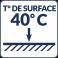 Température de surface : 40°