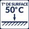Température de surface : 50°