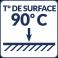 Température de surface : 90°